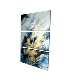 Canvas 24 x 36 - 3D - Blue marble