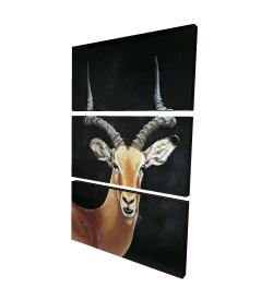 Canvas 24 x 36 - 3D - Antelope