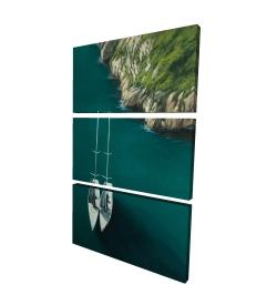 Canvas 24 x 36 - 3D - Smooth sailing
