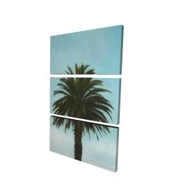 Canvas 24 x 36 - 3D - Tropical palm