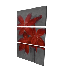 Canvas 24 x 36 - 3D - Asiatic lily