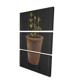 Canvas 24 x 36 - 3D - Plant of marjolaine
