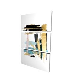 Canvas 24 x 36 - 3D - Pastel stroke