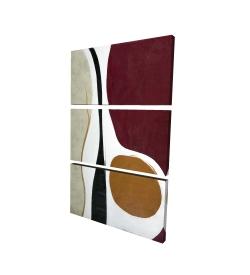 Canvas 24 x 36 - 3D - Multiform