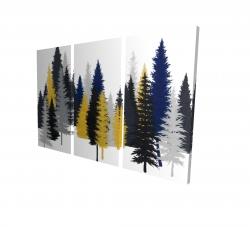 Canvas 24 x 36 - 3D - Golden fir