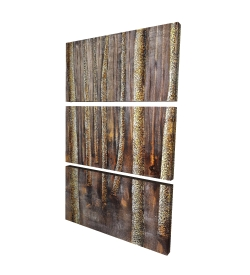Canvas 24 x 36 - 3D - The dark forest
