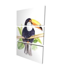 Canvas 24 x 36 - 3D - Toucan