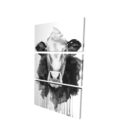 Canvas 24 x 36 - 3D - Cow