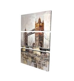 Canvas 24 x 36 - 3D - London tower bridge