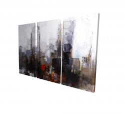 Canvas 24 x 36 - 3D - Obscure city