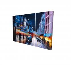 Canvas 24 x 36 - 3D - Cabaret evening