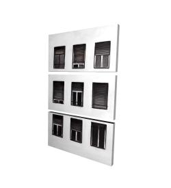 Canvas 24 x 36 - 3D - Windows