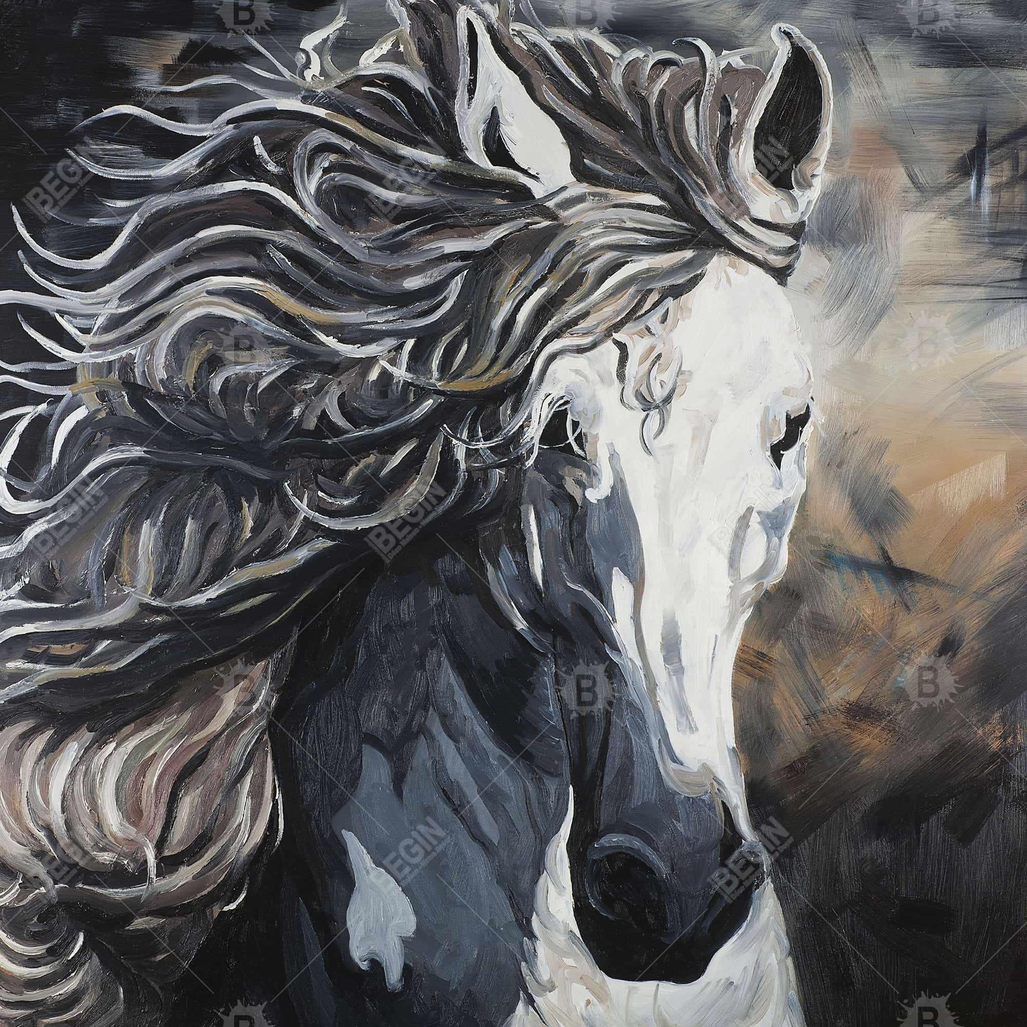 Rabid Horse Artwork Home Facebook - 1000×1000