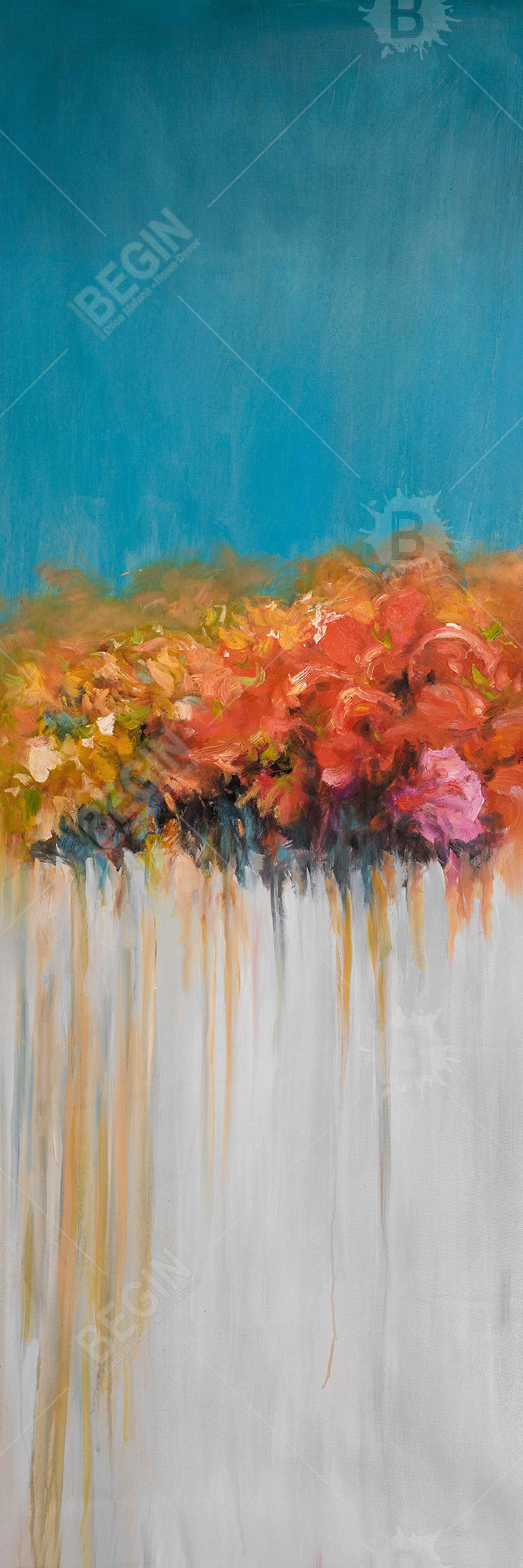 Orange flowers bundle