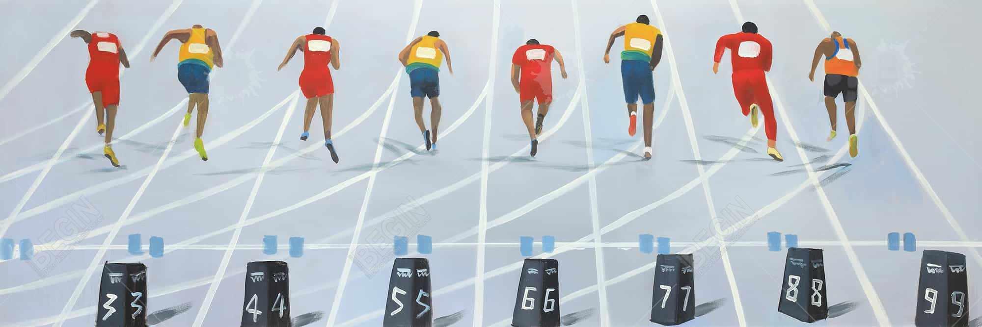Race of 10 meters