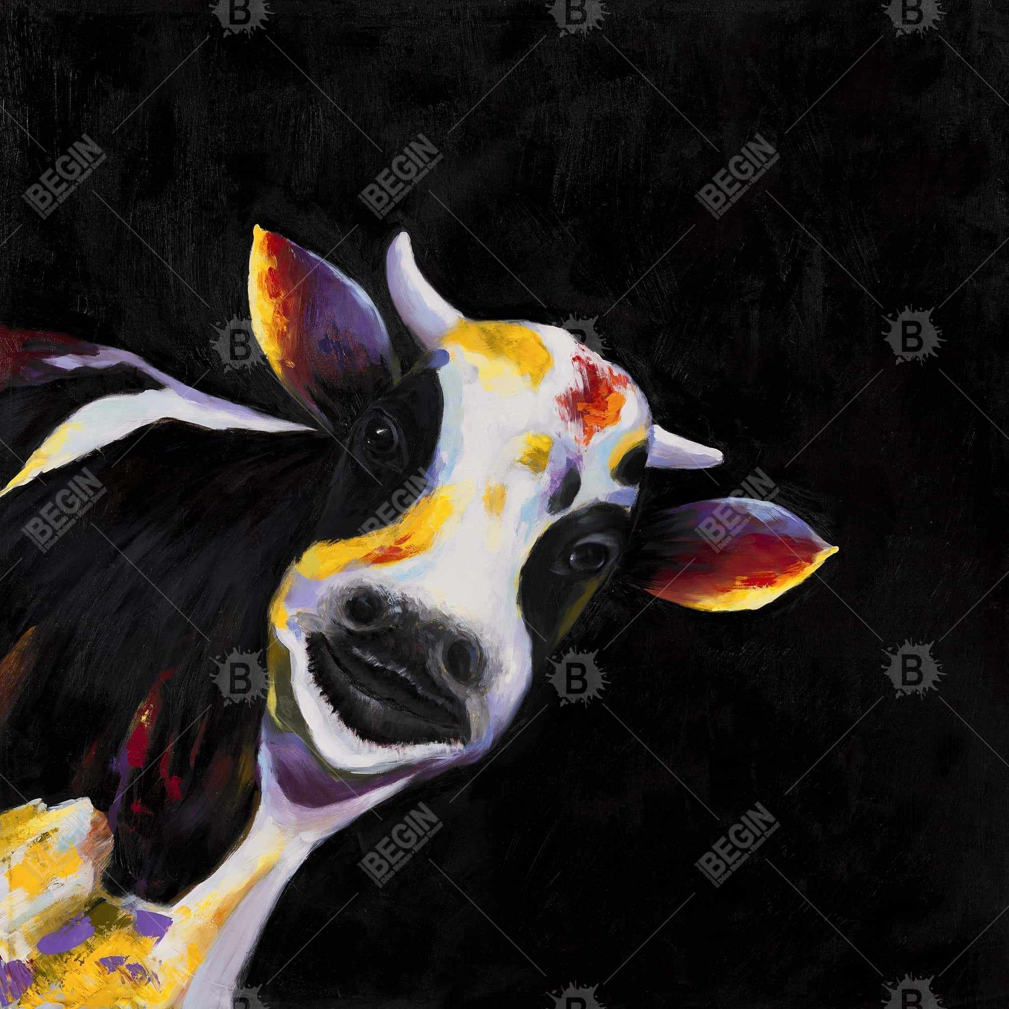 One funny cow