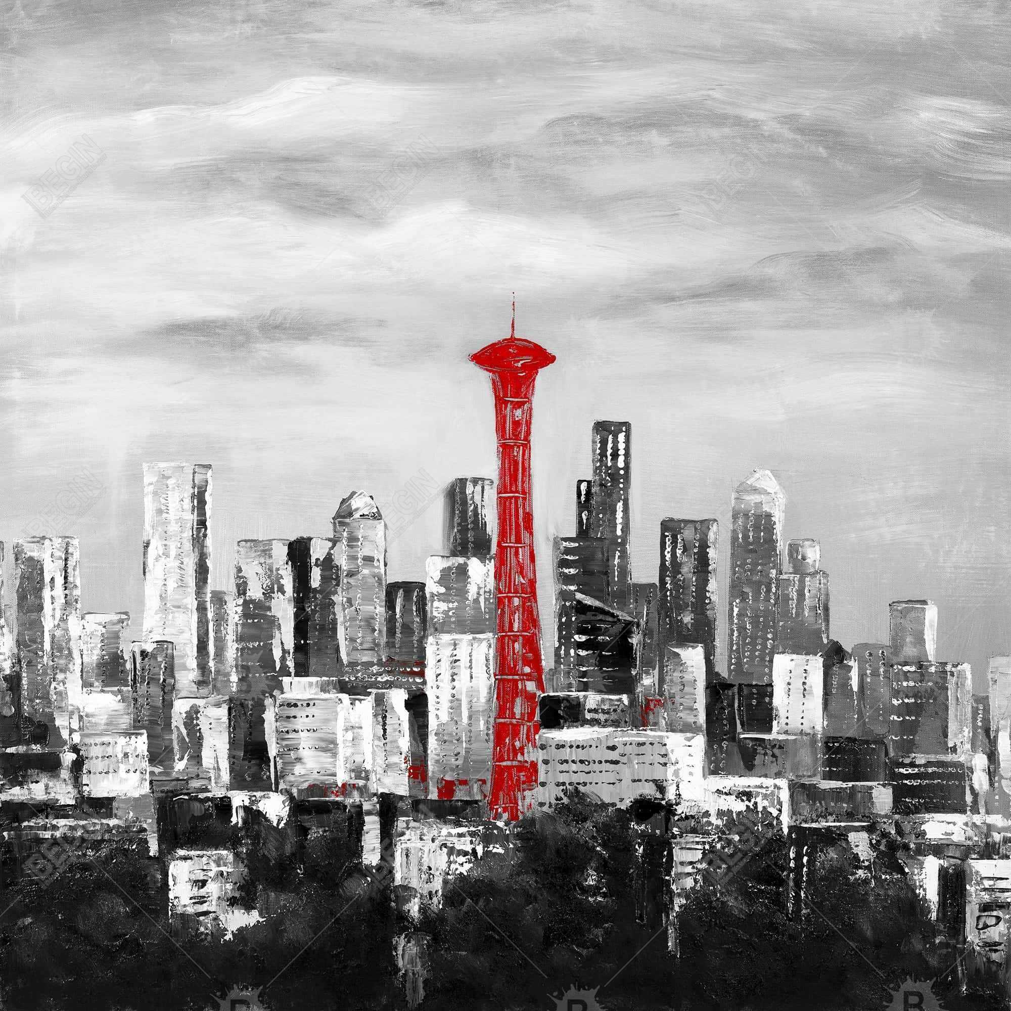 Space needle de la ville seattle