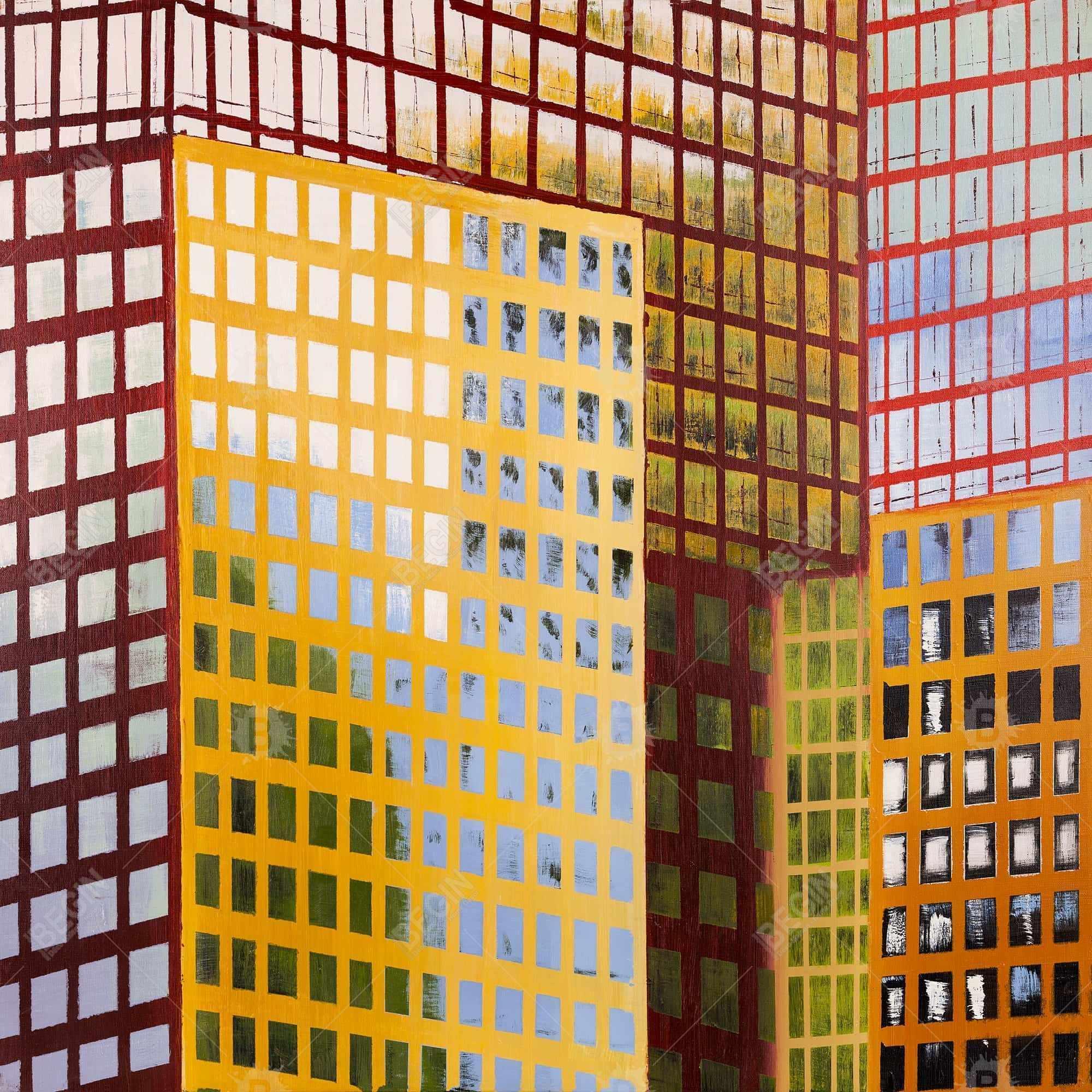 Fenêtres d'un gratte-ciel