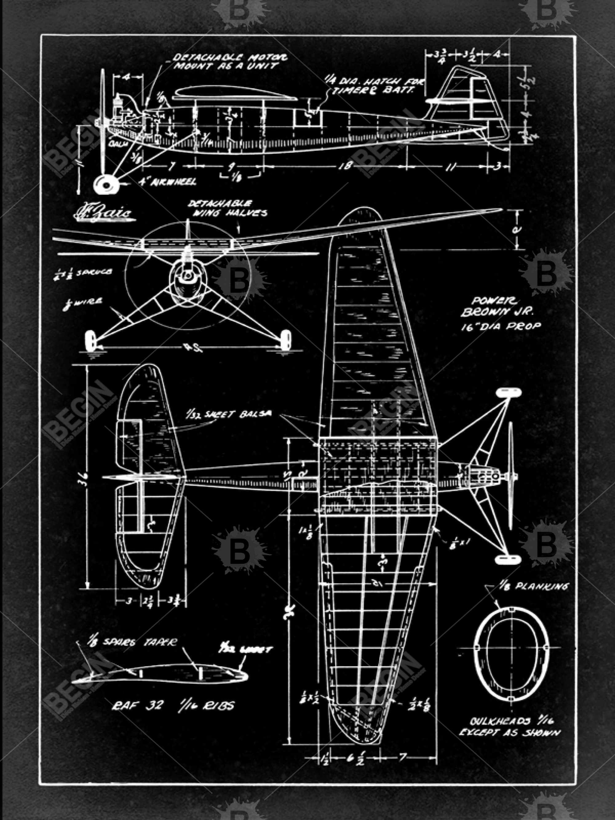 Plan blueprint