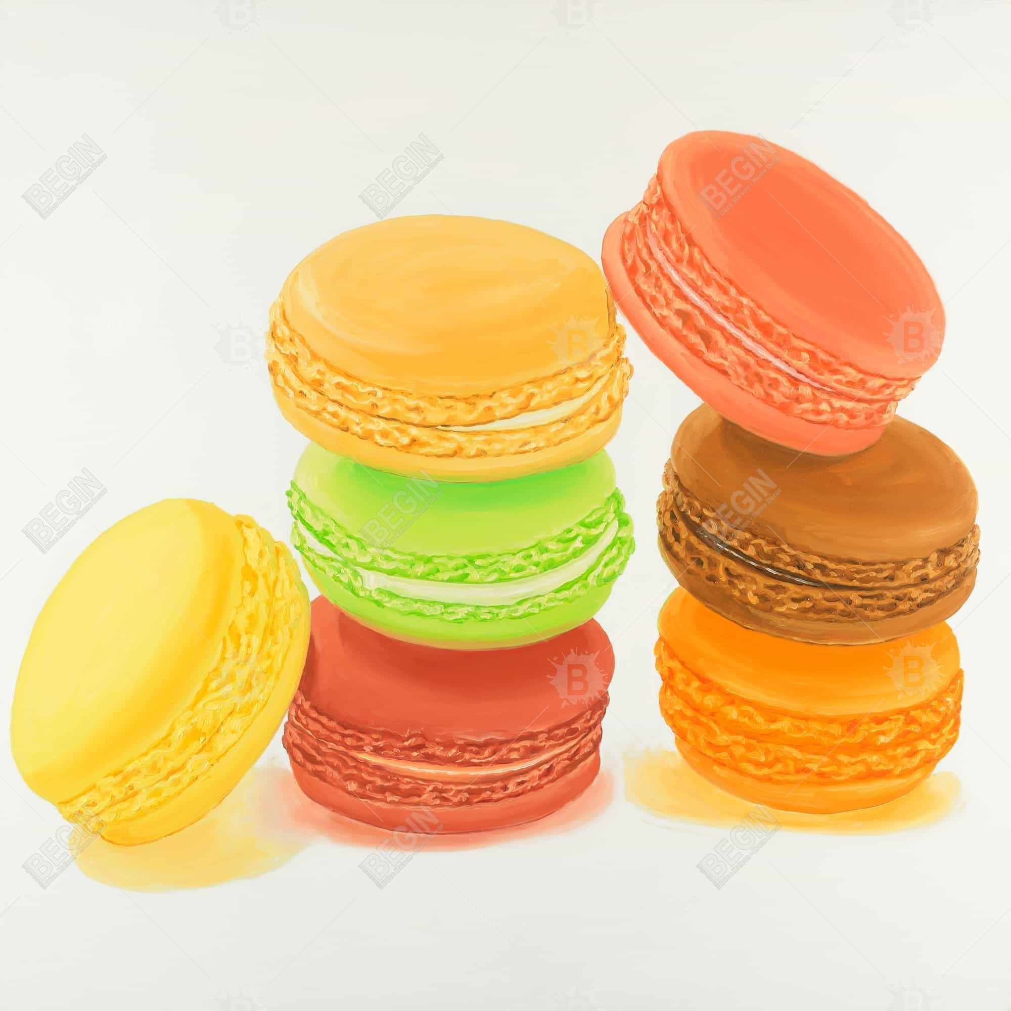 Delicious macaroons