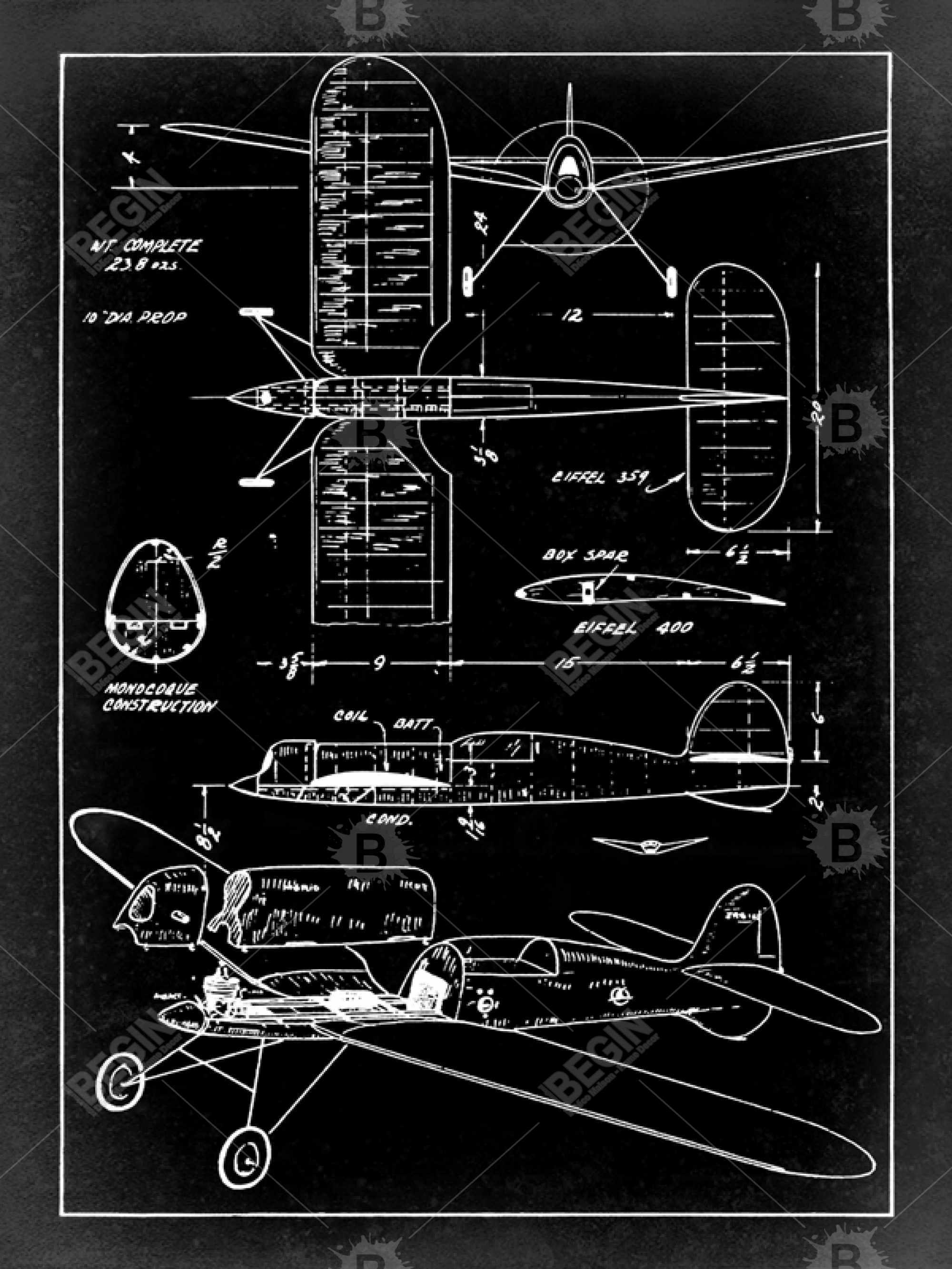 Plan d'avion
