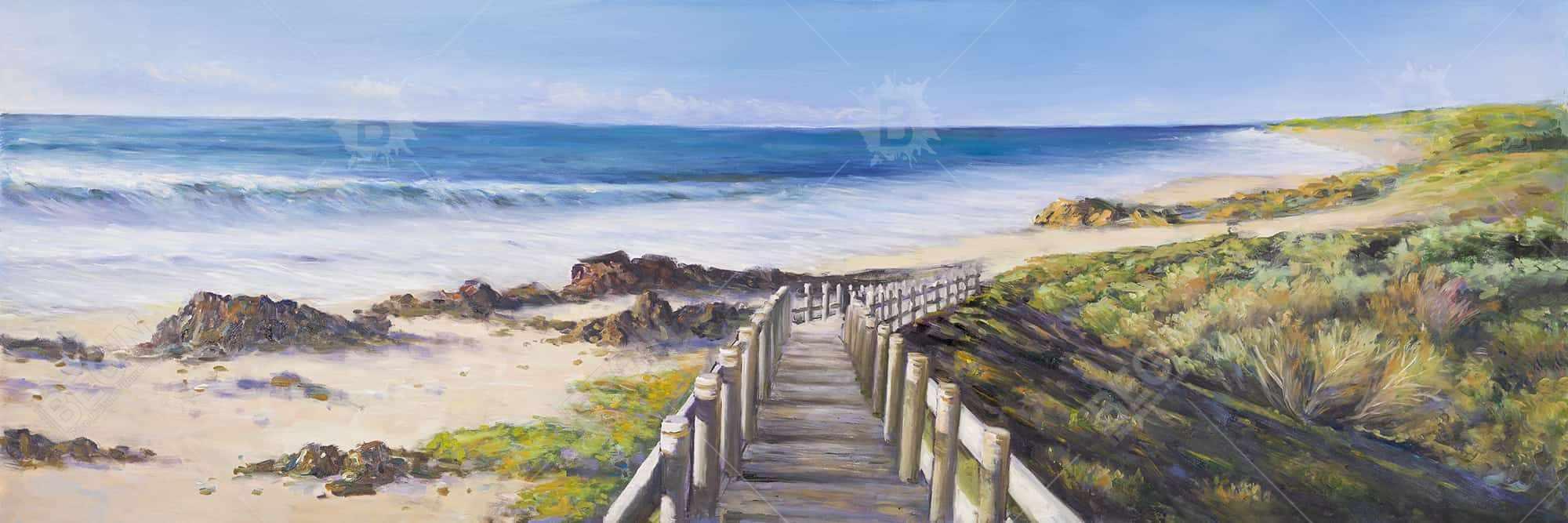 Walk to the seaside