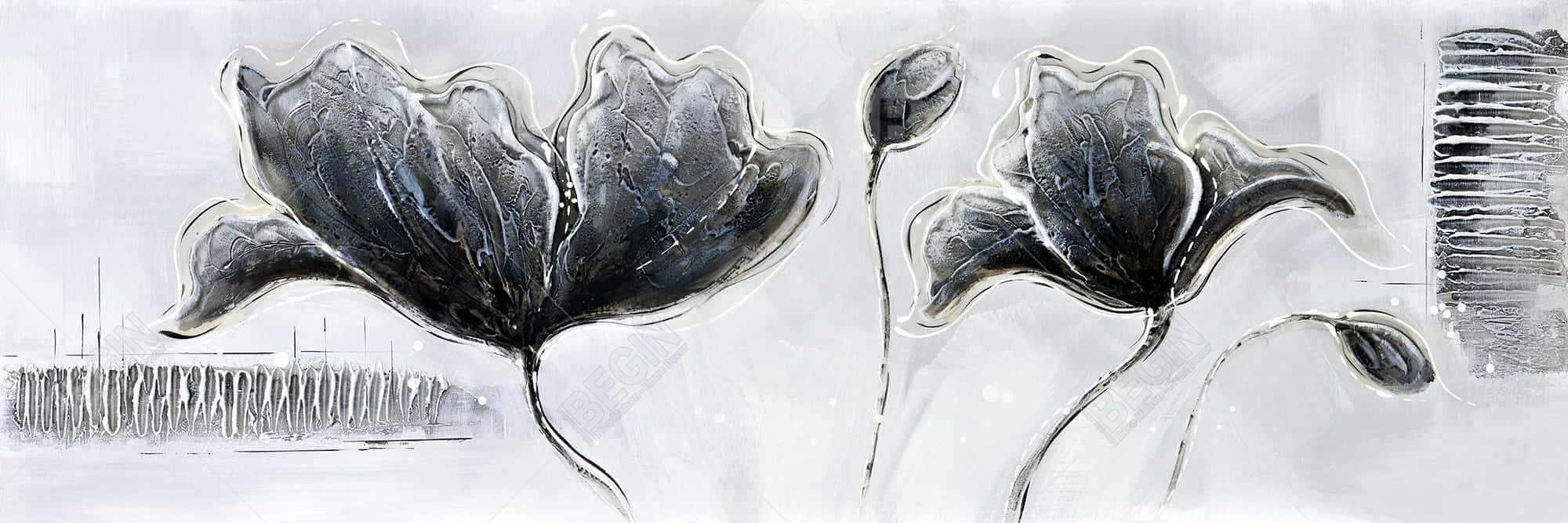 Industrial style flowers