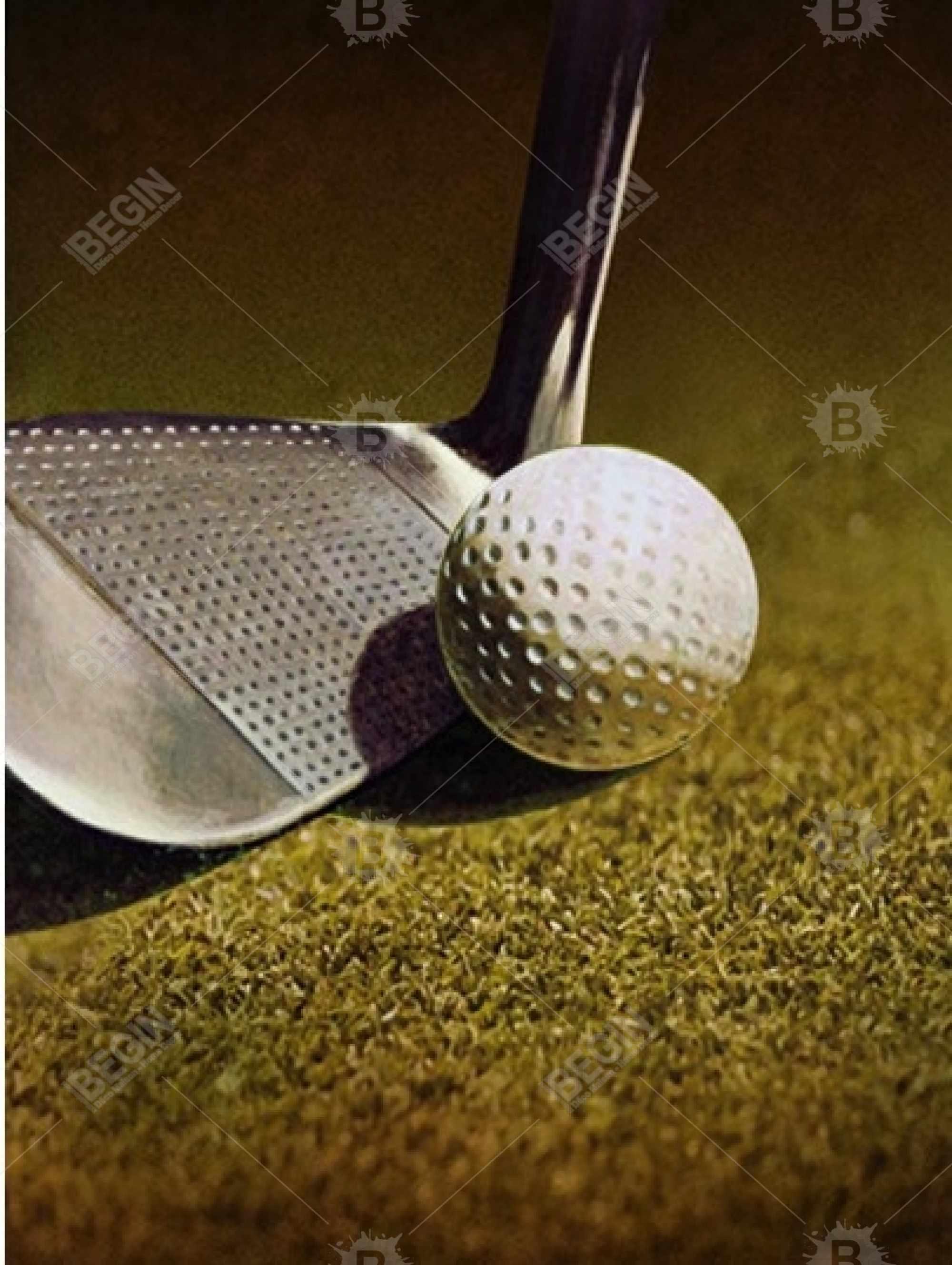 Golf closeup