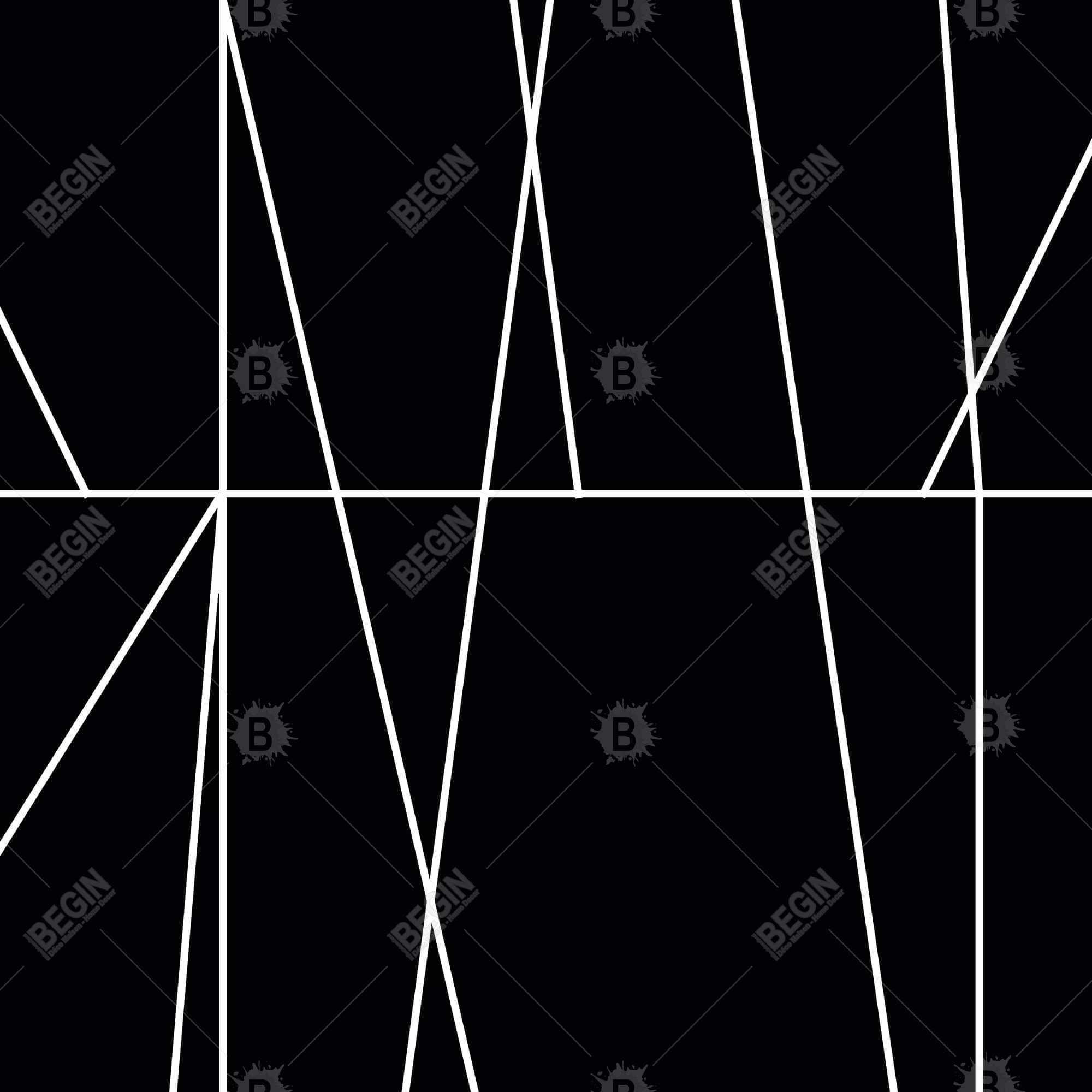 White stripes on black background