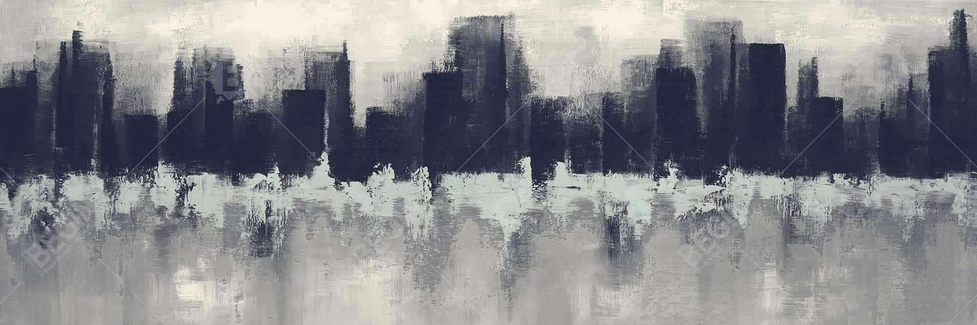 City by sponge technique