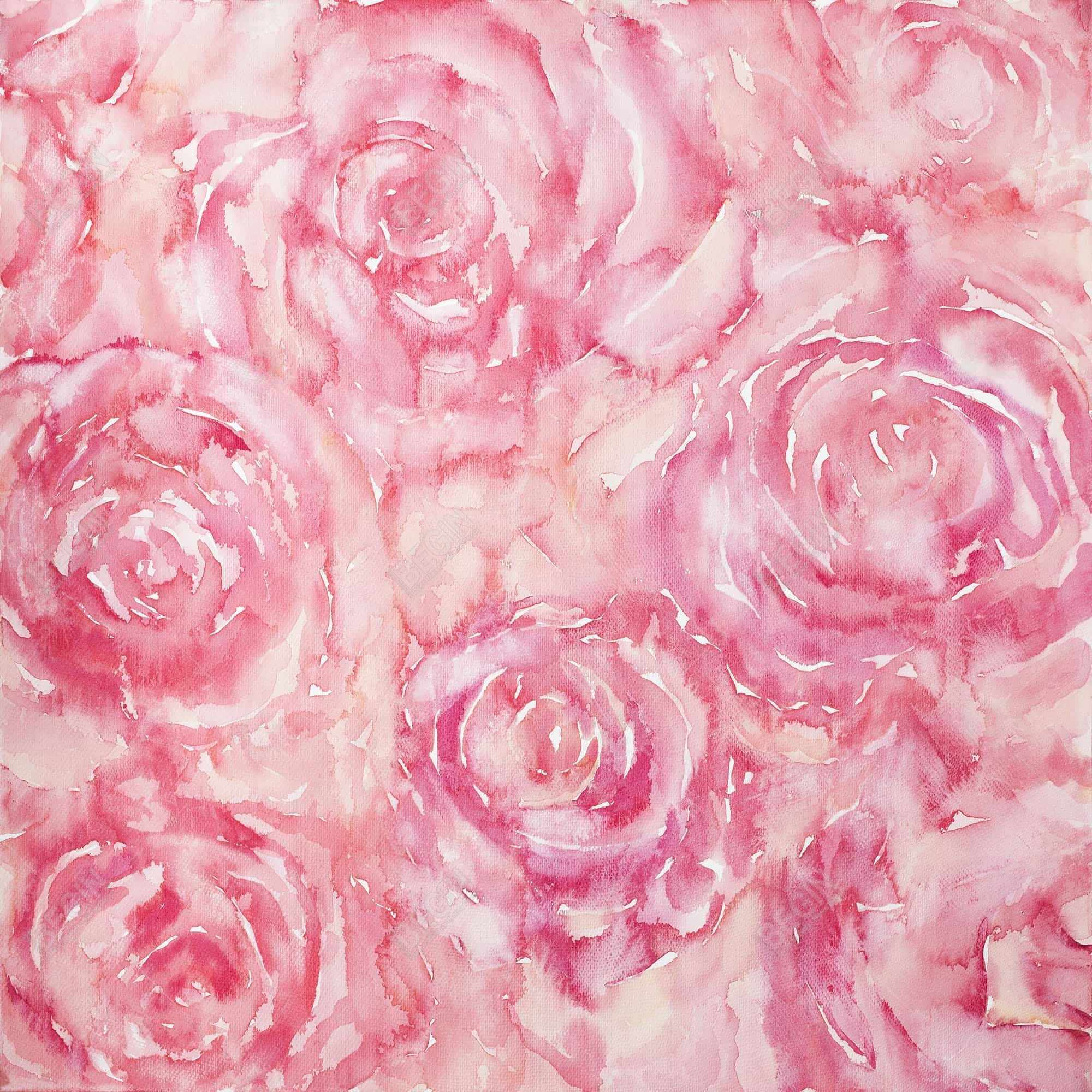 Roses in watercolor