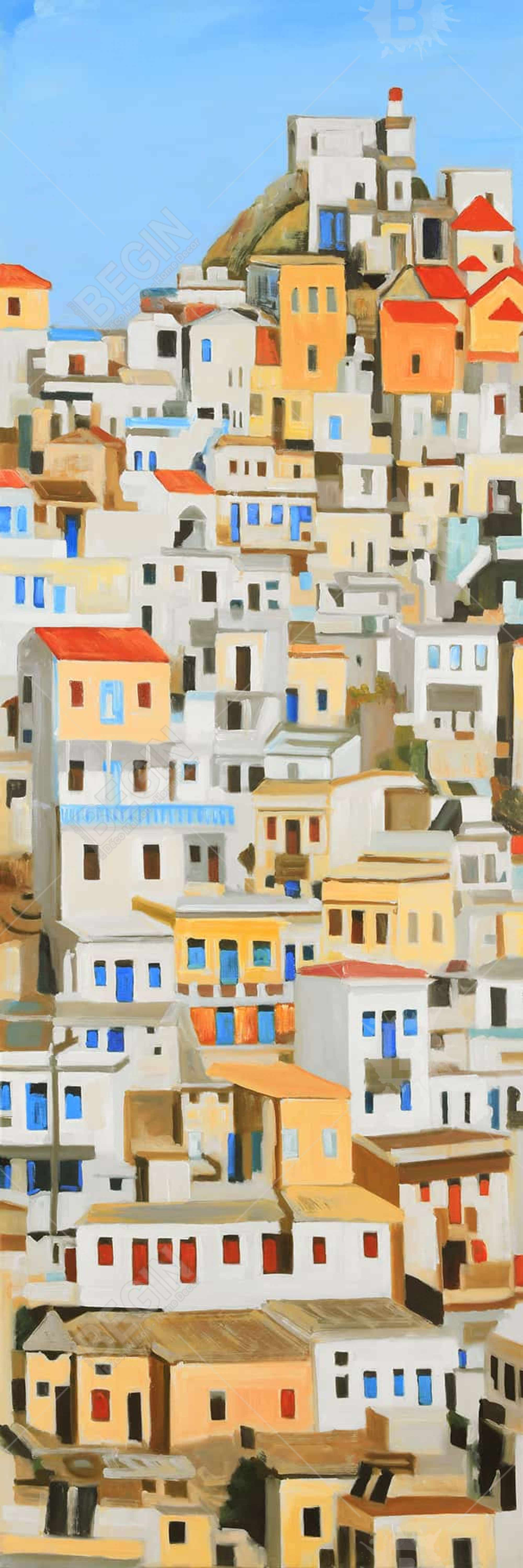 Small houses in greece