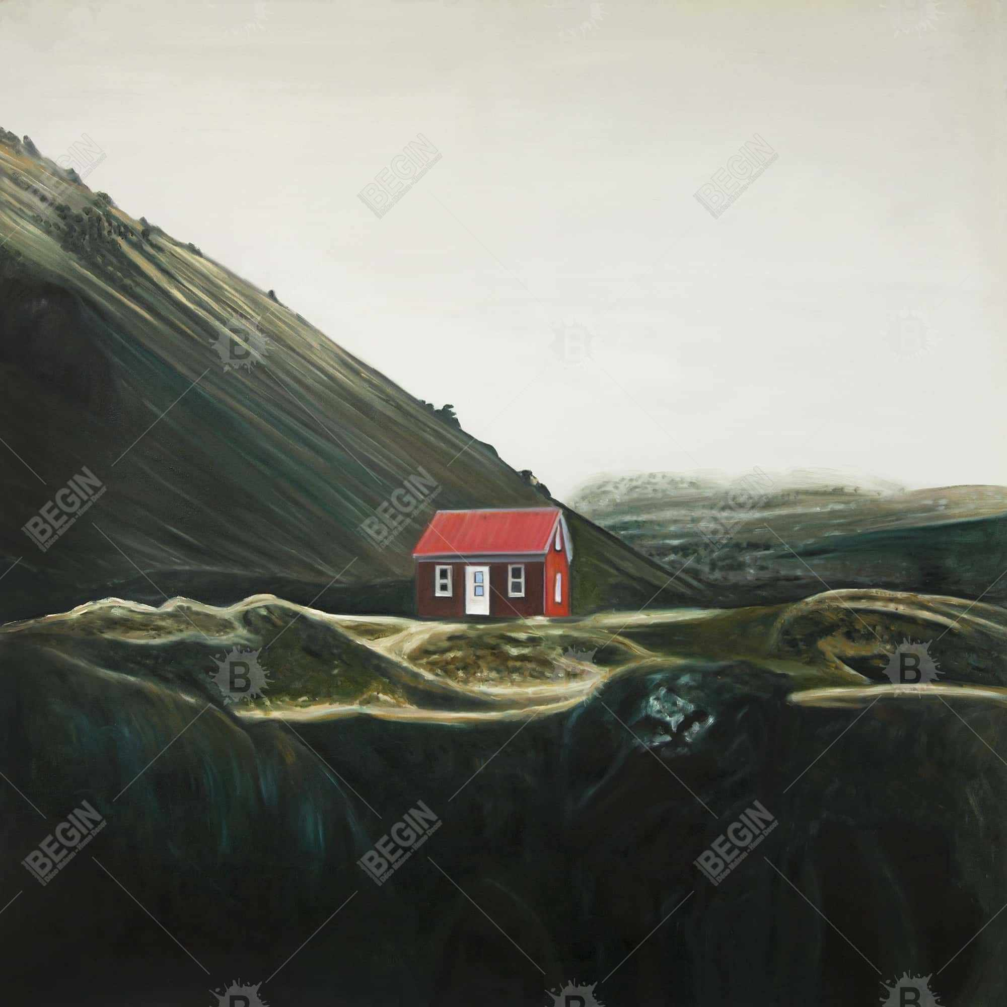 Isolated shack