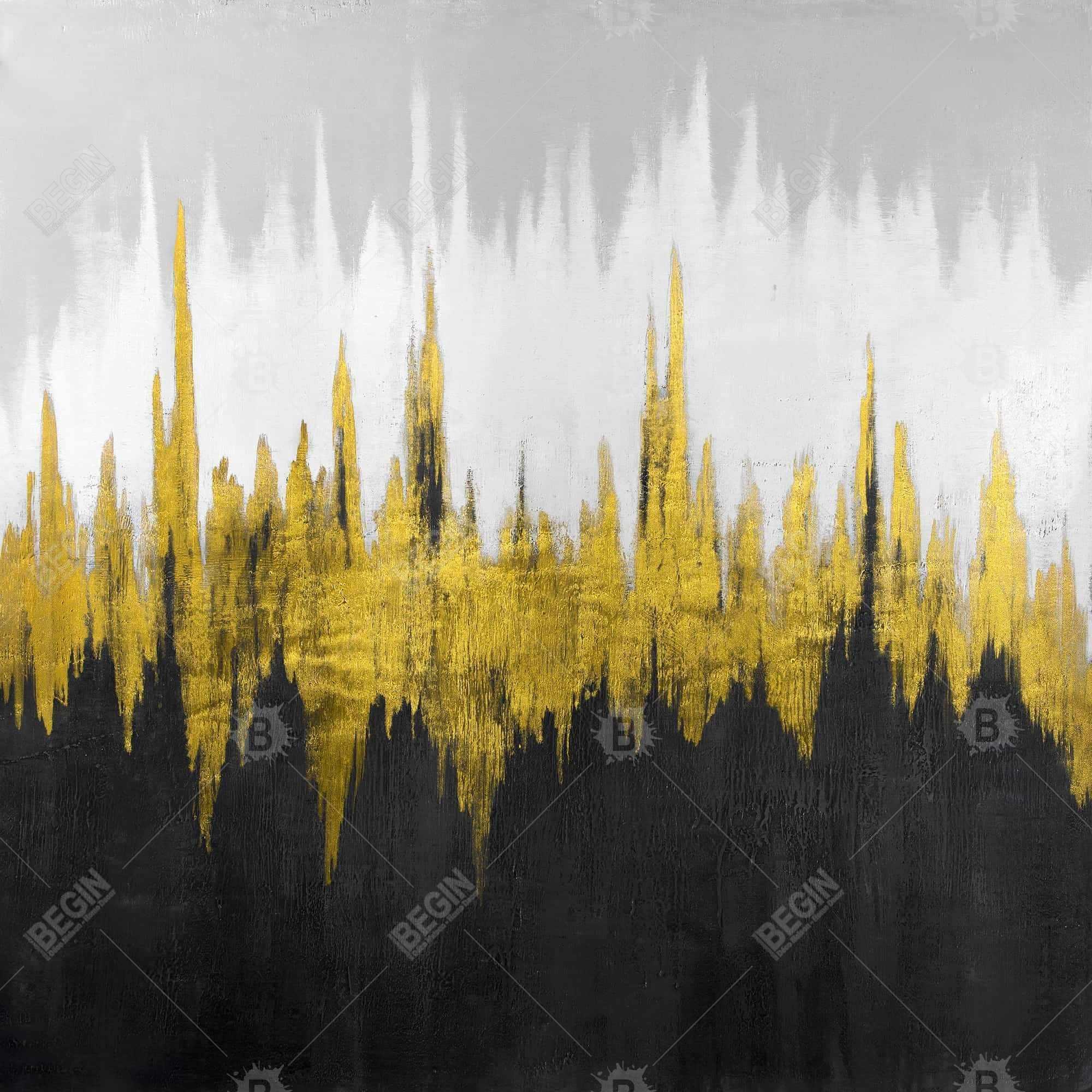 Golden zigzag