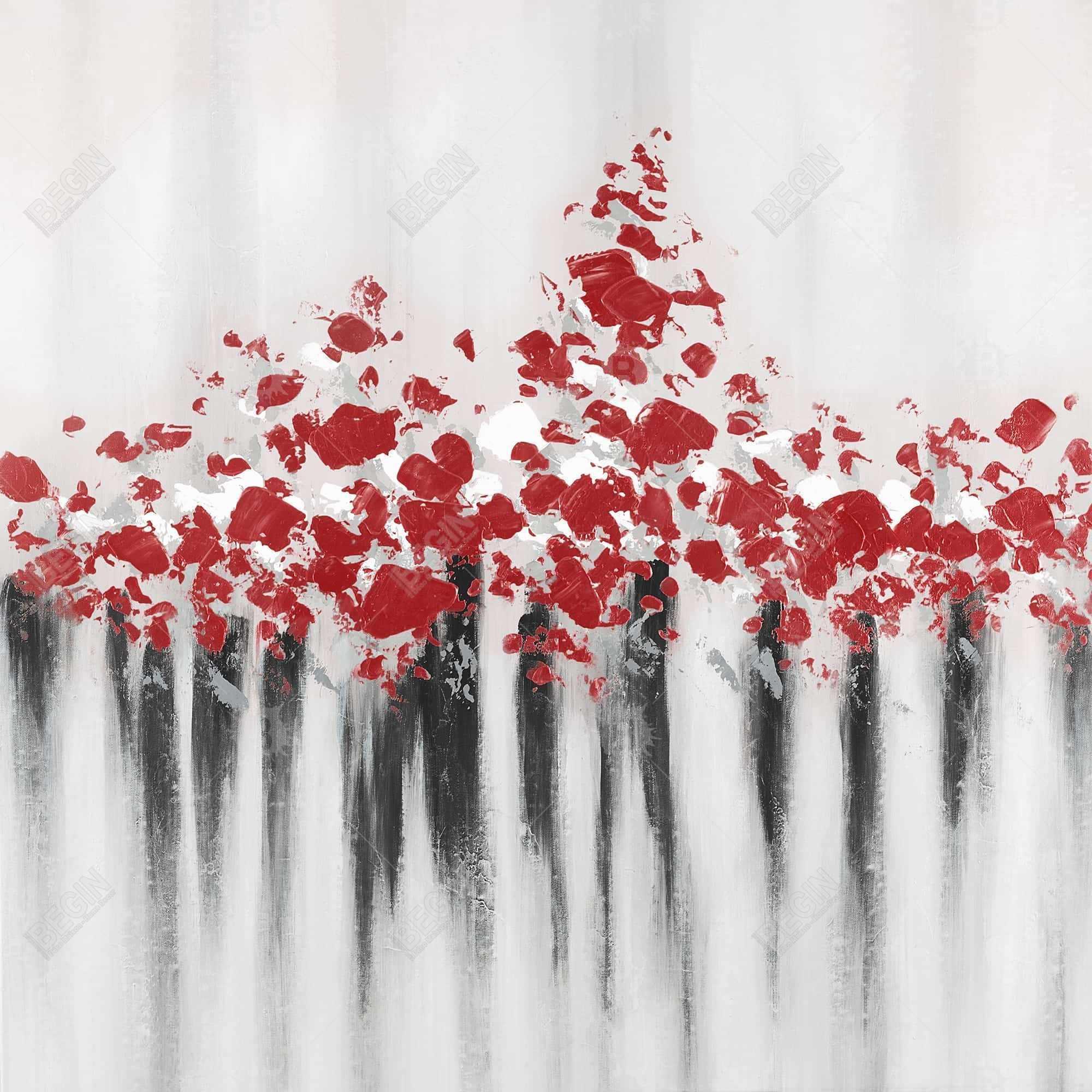 Falling red dot