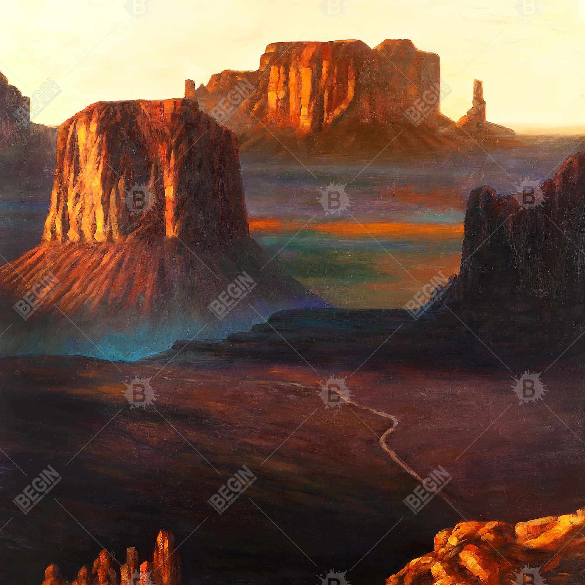 Monument valley tribal park dans l'arizona